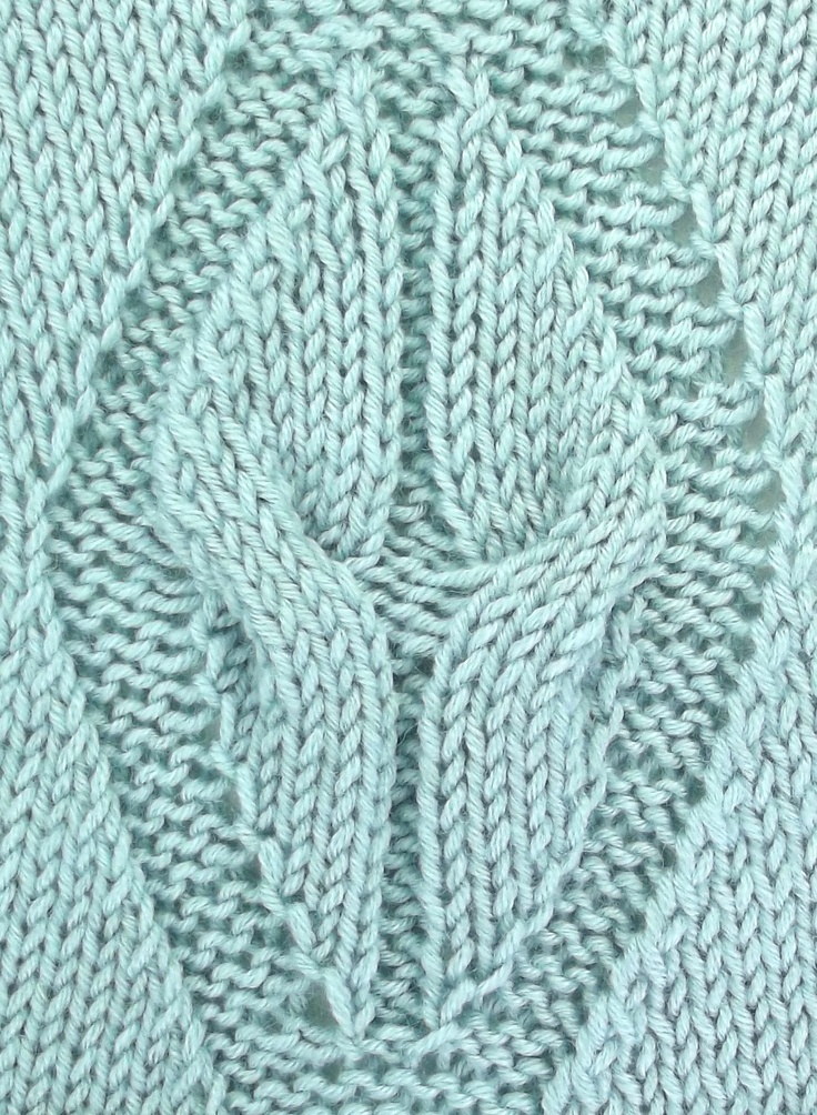 Free Knitting Lace Stitch Library : 14 best images about March 2013 Knitting Stitch Patterns on Pinterest Cable...
