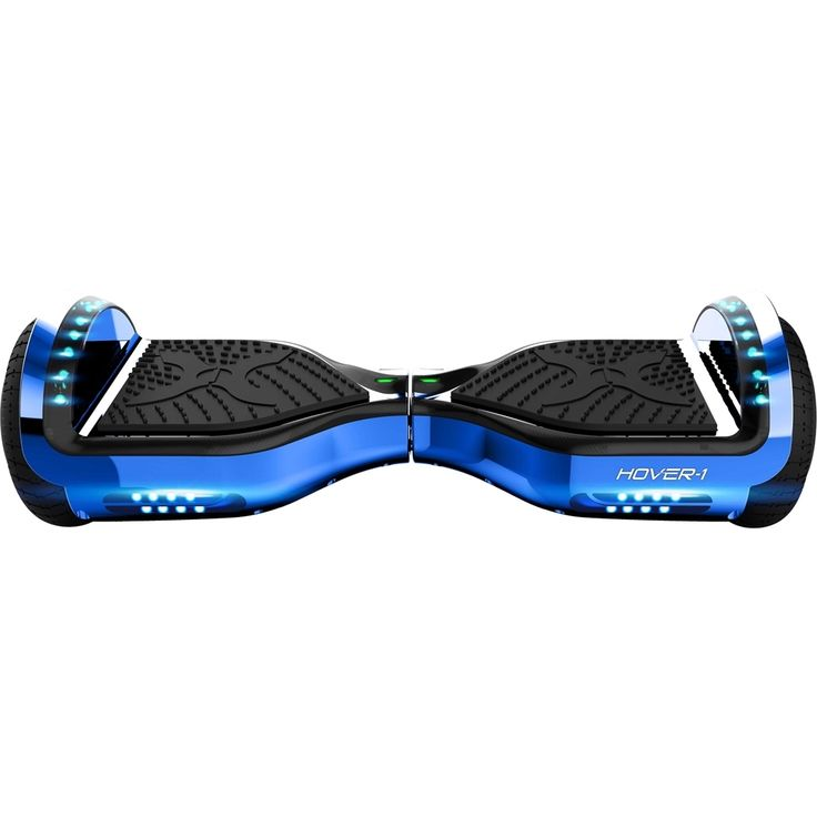 Hover-1 CHROME 2.0 Hoverbaord Electric Scooter UL Certified Bluetooth LED