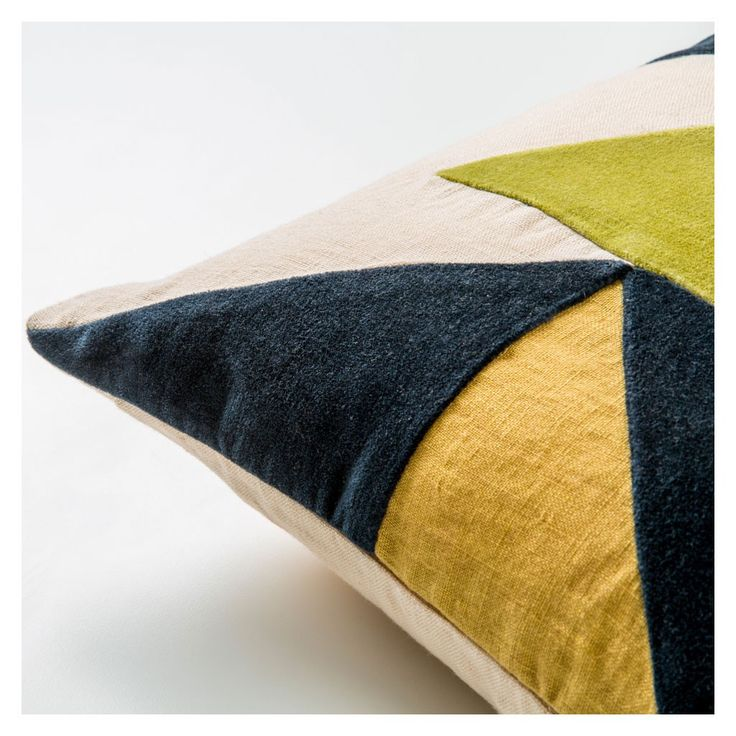 Designed exclusively by The Conran Shop, the structural design of this cushion cover draws inspiration from geometric forms and lines found in nature.