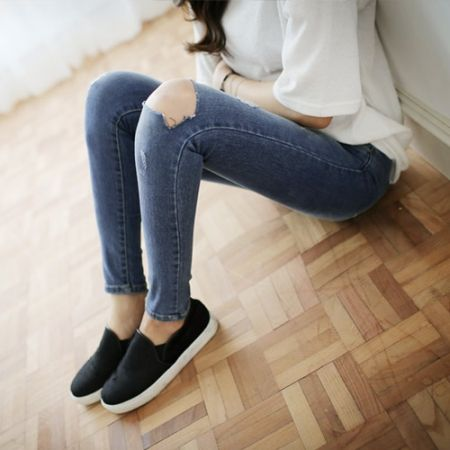 Womens Clothing Store [VANILLAMINT] jiben Jeans / Size : 25-30 / Price : 48.59 USD #dailyllook #dailyfashion #fashionitem #bottom #pants #jeans #denim #skinny #skinnyjeans #ootd #vanillamint http://en.vanillamint.net/ http://cn.vanillamint.net/ http://jp.vanillamint.net/