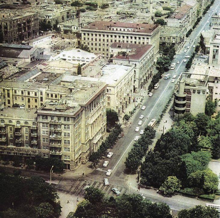 Baku Konca 1960h Nachala 1970h Gg 78 Foto V 2021 G Zamechatelnye Mesta Fotografii Gorod
