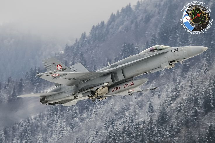 Here's the Swiss Air Force jets providing air defense over Davos WEF meeting. From Jan. 21 to 24, the Swiss Air Force contributed to the security of the WEF international conference held at Davos, ...