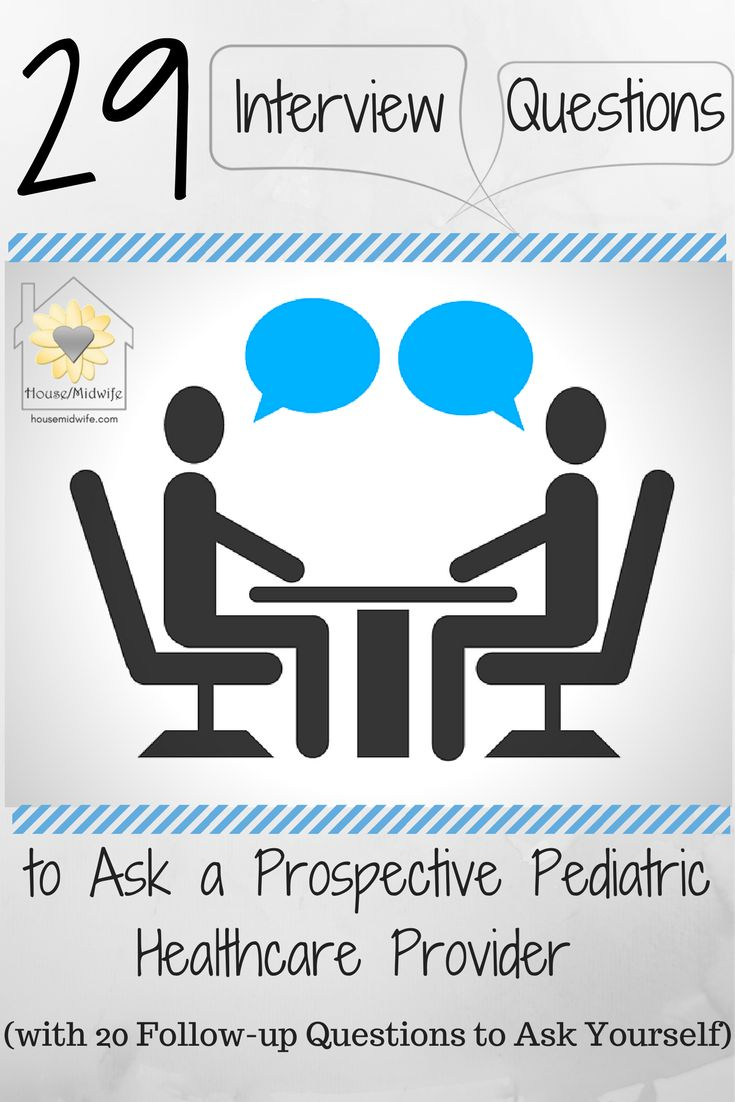 Do you know what you need to ask a pediatrician, family practice doctor, or nurse practitioner before you hire them to care for your baby?  Here are 29 questions to ask them when you interview them at a meet and greet appointment with 20 follow-up questions to ask yourself.