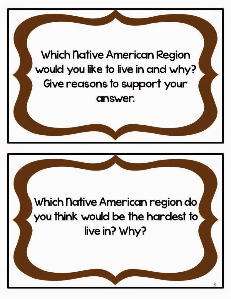 native american picture writing activities