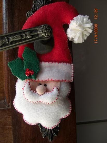 1000 ideas sobre adornos navide os para puertas en for Decoracion de navidad manualidades