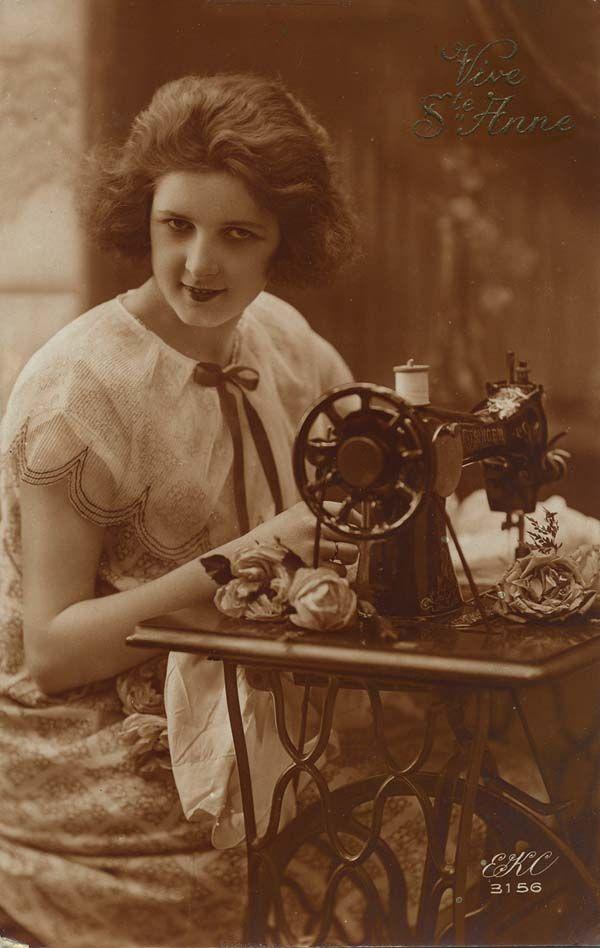 34 best images about my vintage sewing postcards on. Black Bedroom Furniture Sets. Home Design Ideas