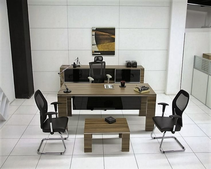 Ahşap özlü reçine malzemeden üretilmiş melamin yonga tabanlı ofis masası. Ofis mobilyası için dinamik masa takımı seçeneği uygun fiyatıyla eLsa kalitesiyle.