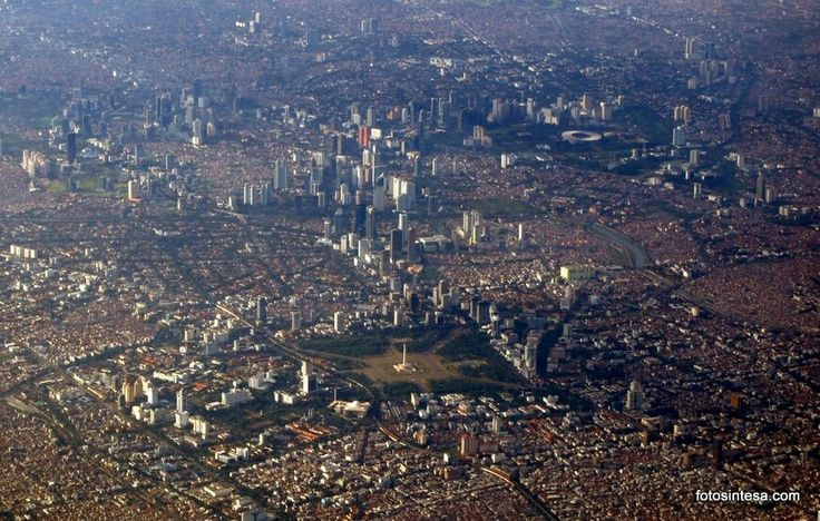 Bird eyes view of Jakarta