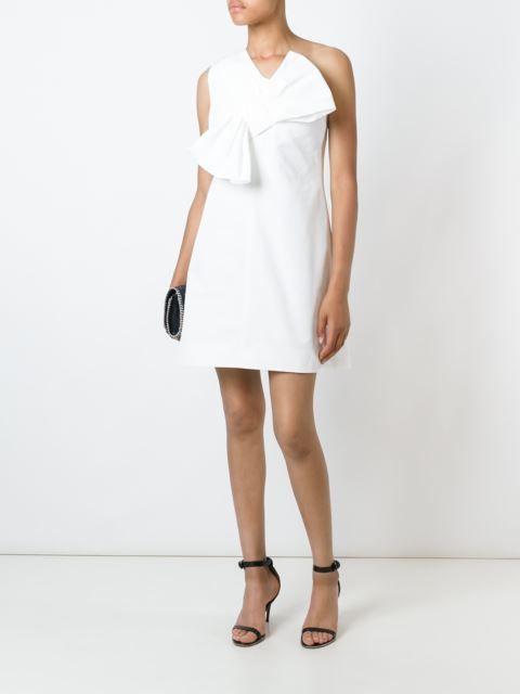 Victoria Victoria Beckham платье с бантом