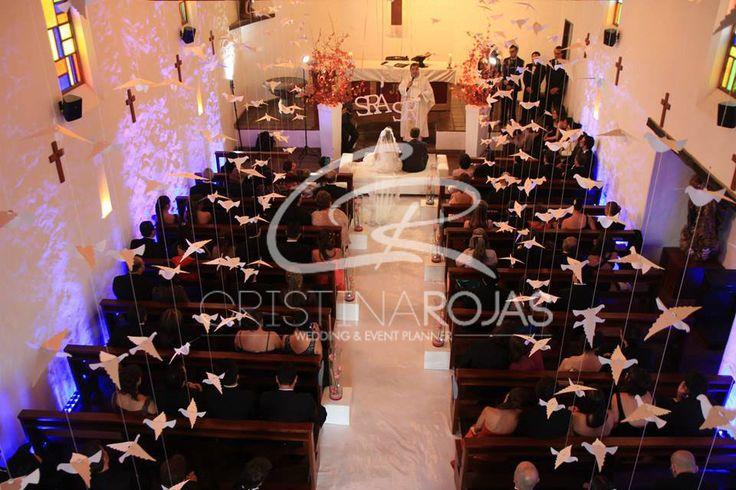 Ceremonia Católica Montaje personalizado estilo Glam