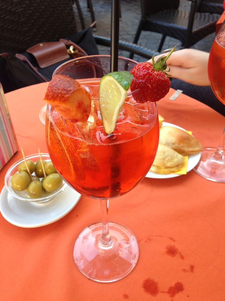 #Spritz #Olives #Chips