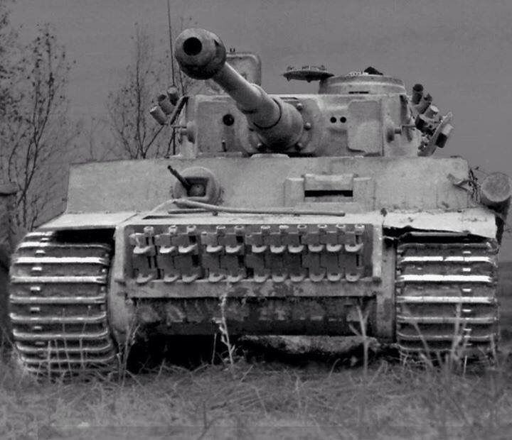 In WWII if you saw this Tiger tank , it is most likely your last.  The most feared Tank of WWII.