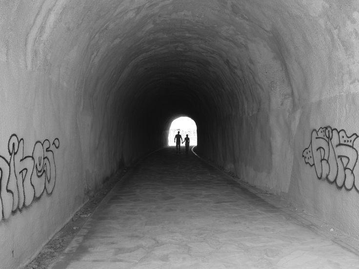 Málaga. The Tunel Of Love