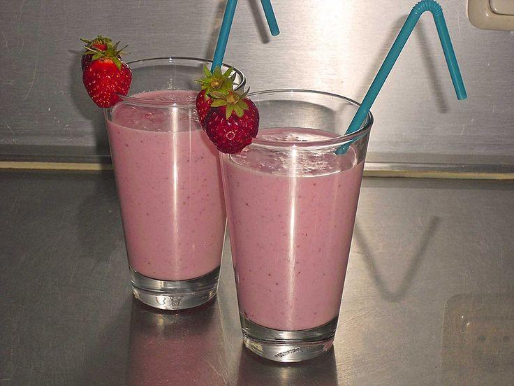 Erdbeer Milchshake
