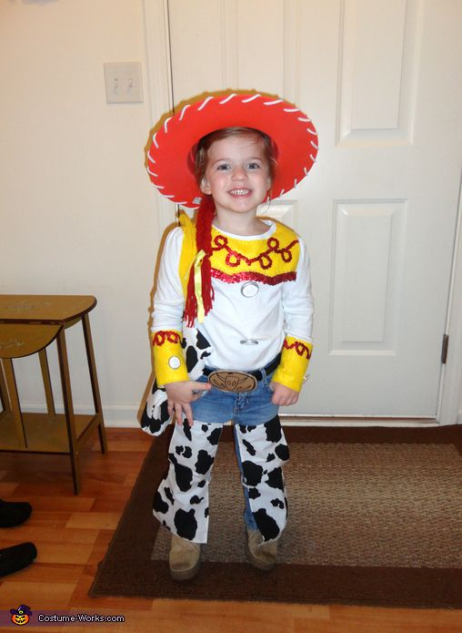 toy story jessie the cowgirl costume - Toddler Jessie Halloween Costume