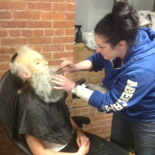Gentrified - beard application by Emily Takis: Makeup Portfolio, Emily Taki, Beards Application