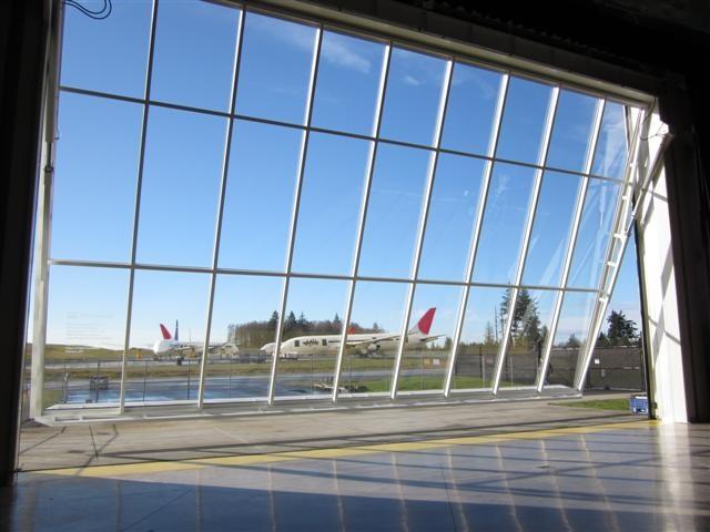 Glass Hangar Door Student House Doors Glass Door