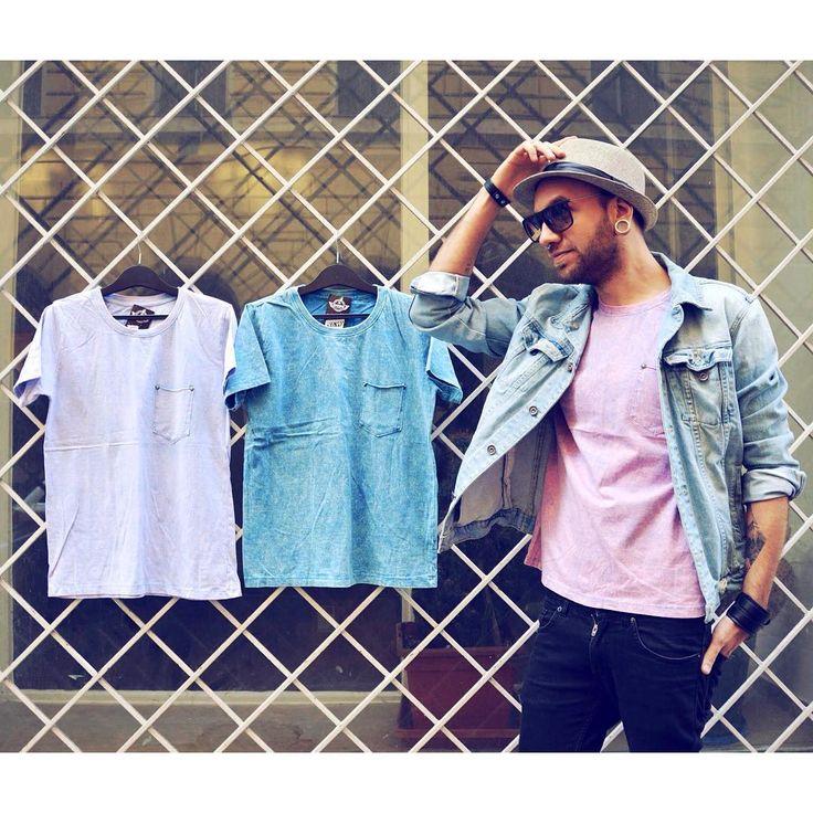 Springtime Salute ✨  stonewashed style pastel men t-shirt szputnyikshop szputnyik vintage outfit street style batik