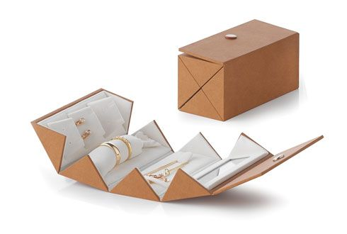 Travel Jewellery Case concept.