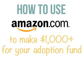 Step-by-step instructions on setting up an Amazon.com affiliate program to raise money for your adoption.