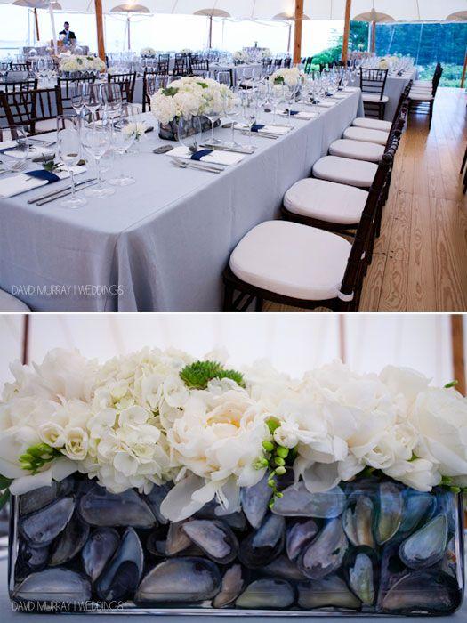 Coastal Maine wedding chic - simple, elegant and fantastic! Photography: davidmurrayweddings.com