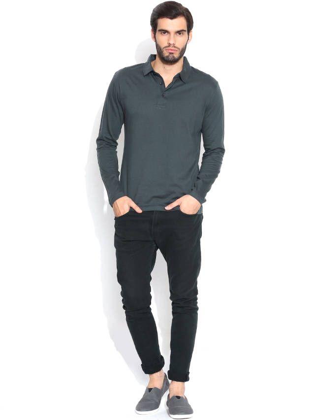 Dream of Glory Inc. Dark Grey Polo T-shirt