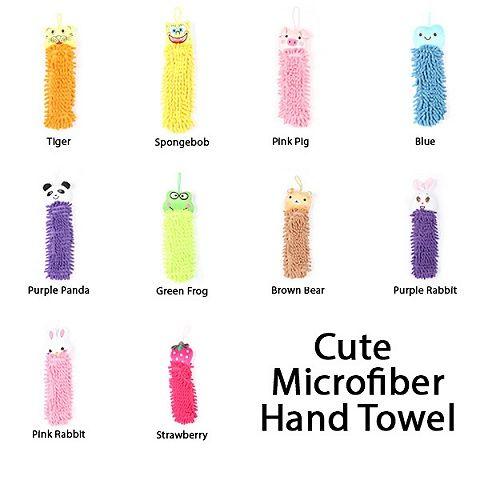 Handuk Tangan Microfiber Imut - Cute Microfiber Hand Towel