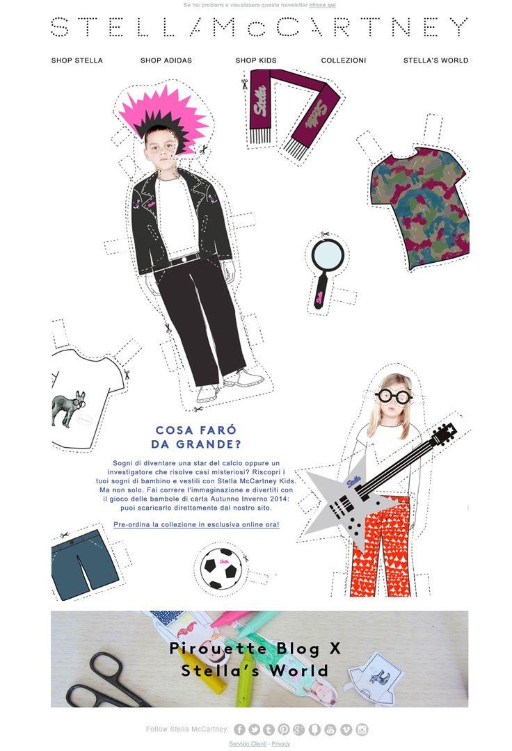 #newsletter Stella Mc Cartney Kid 06.2014 Pre-ordina la collezione Stella Kids in esclusiva