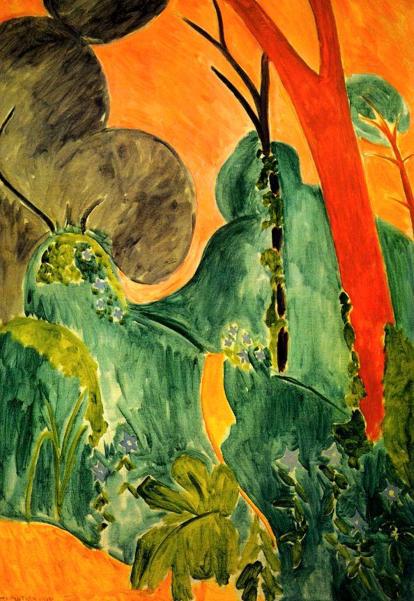 Moroccan Garden / Henri Matisse - 1912