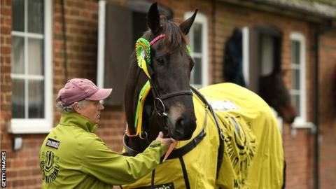 Many Clouds died from 'severe pulmonary haemorrhage', post mortem reveals - BBC Sport