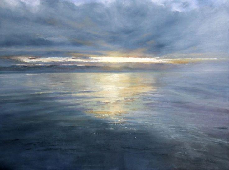 Fiona Haldane, Celestial Light, Tay Estuary, Pastel | Scottish Contemporary Art