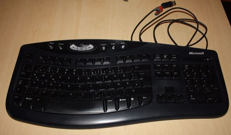 MICROSOFT Comfort Curve Keyboard 2000 v1.0 externe USB Tastatur