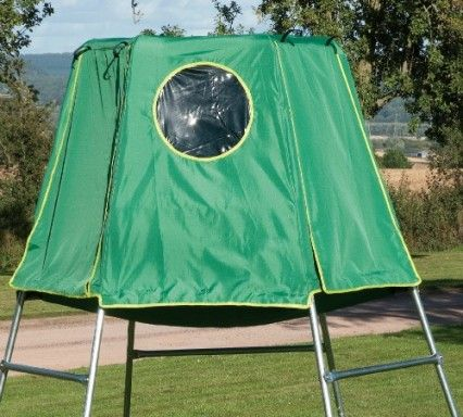 TP Explorer Den - the climbing frame that grows with your child. It can be built at 2 levels