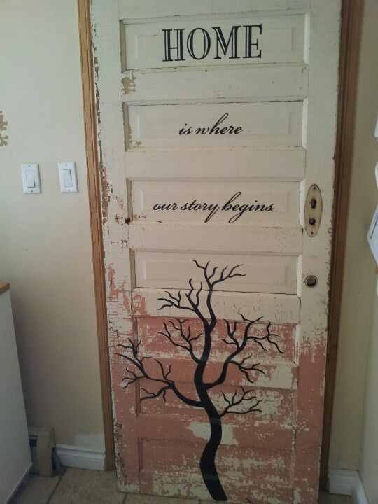 Pinterest ideas for old doors just b cause for Idea for old doors
