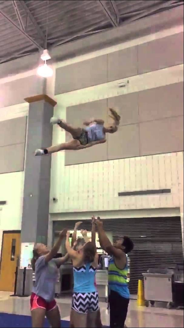 Kick full basket toss