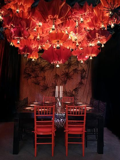 I. Love. Umbrellas.    Google Image Result for http://homeinteriordesignthemes.com/wp-content/uploads/2009/06/umbrella-chandliers-over-a-dining-table.jpg