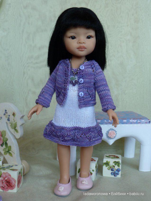 """Наряд для Паола Рейна """"Любимый фиолетовый""""Новая цена 1500тыс. / Одежда для кукол / Шопик. Продать купить куклу / Бэйбики. Куклы фото. Одежда для кукол"""