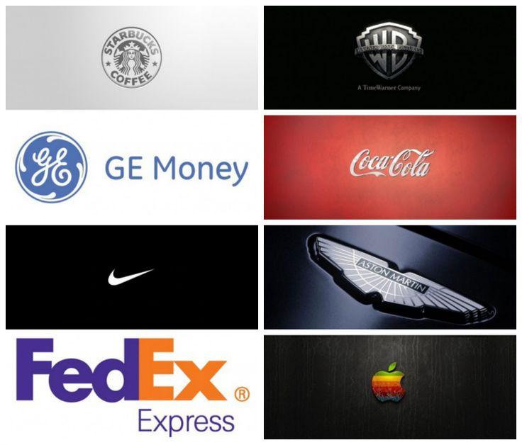 8 Logos con el concepto creativo más interesante #Diseño #Creatividad
