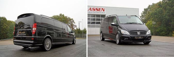 Mercedes Viano Klassen Luxury Business VIP Van Exterior Images
