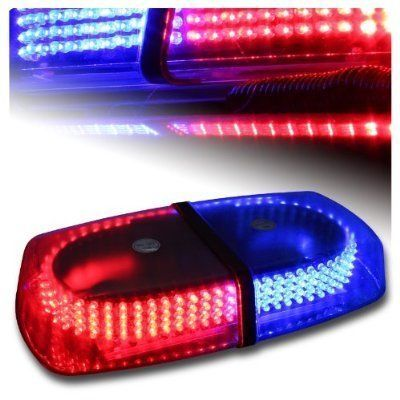 35 best mini lightbar images on pinterest police car lights and super bright 240 leds red and blue car top roof emergency beacon light police warning flash strobe light bar aloadofball Choice Image