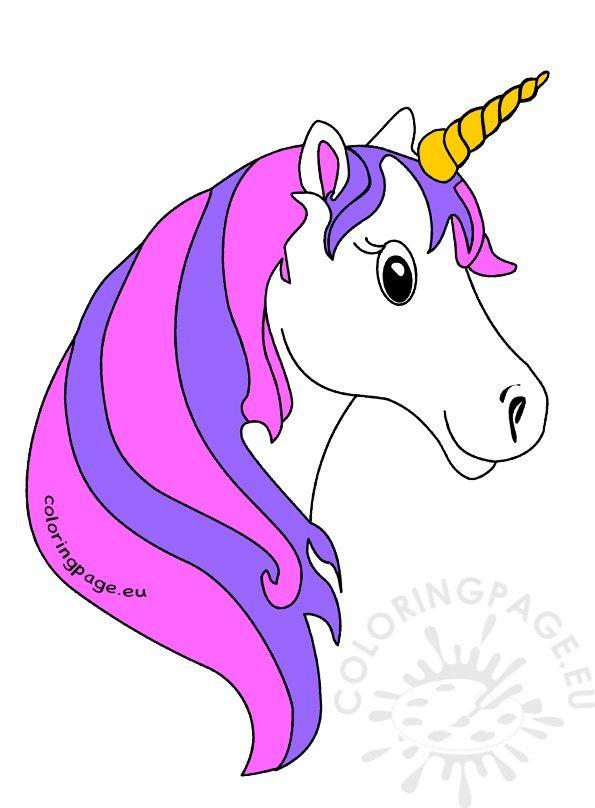 Rainbow unicorn clipart Animal