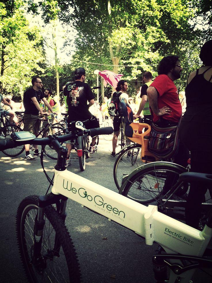 Bike Pride con we go green @greentogreen