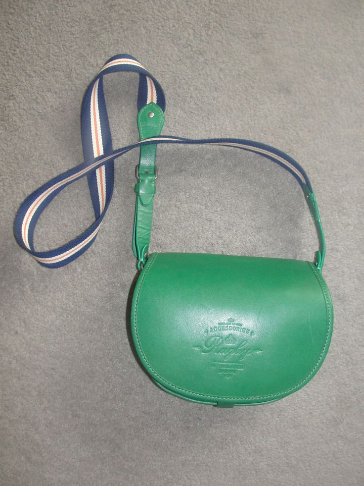 RALPH LAUREN RUGBY Leather Purse crossbody satchel like NEW unique rrl