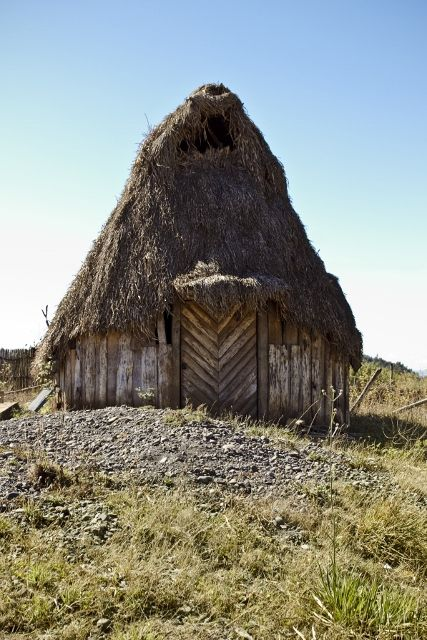 traditional Mapuche dwelling place // missionmauche.org #mapuche #chile