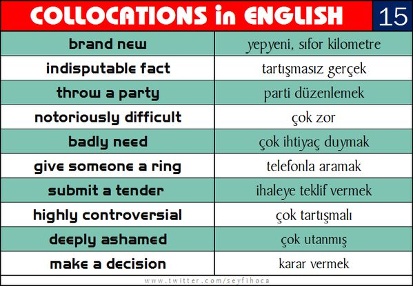 English collocations with images to share - Google Search