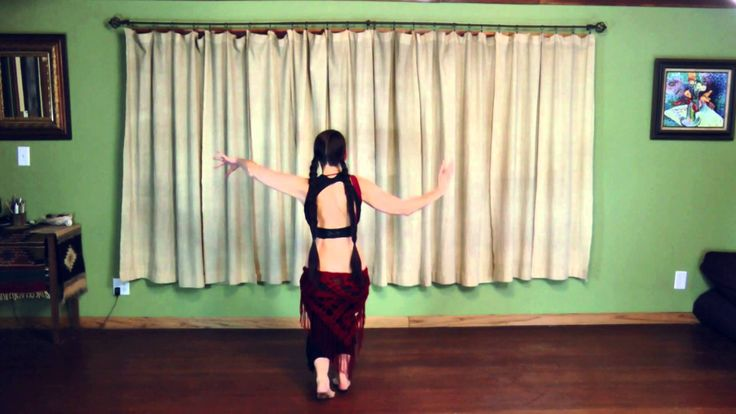 Tribal Belly Dance Lessons - Snake Arms & Level One Drills