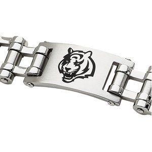 Stainless Steel Cincinnati Bengals Logo ID Bracelet Body Candy. $75.00. Save 50%!