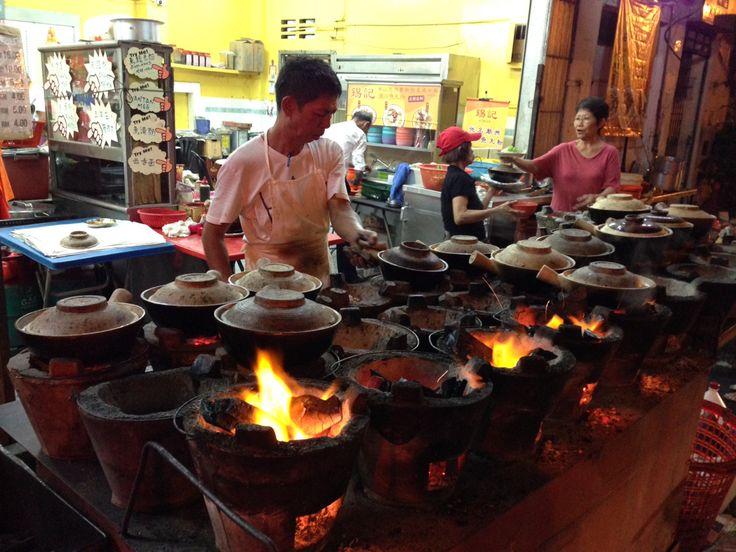 Clay Pot Rice at a restaurant in Kuala Lumpur
