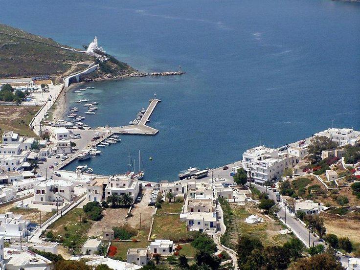 Ios port,Cyclades islands