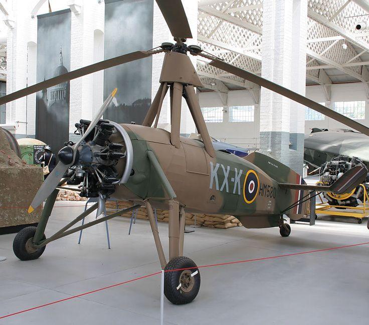 Cierva C30A autogiro: diente im Zweiten Weltkrieg zur Überwachung von Radareinstellungen